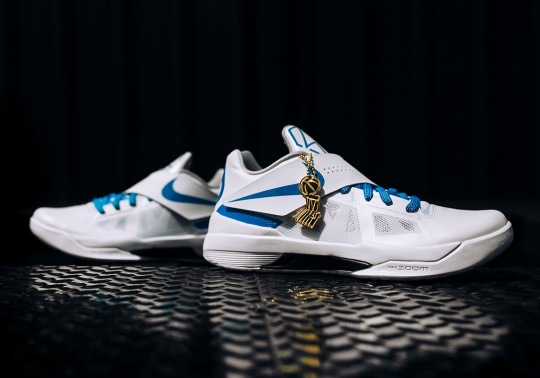 Kevin Durant's Nike KD 4 PE From The 2012 NBA Finals Is Coming Back
