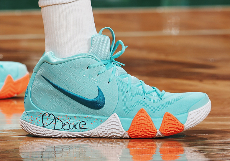 check out 4eaf2 5db0c Nike Kyrie 4 Power Is Female Release Date | SneakerNews.com