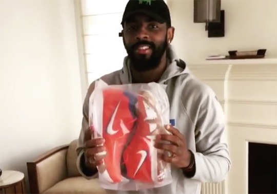 Kyrie Irving Reveals A Wheaties Cereal Special Edition Nike Package