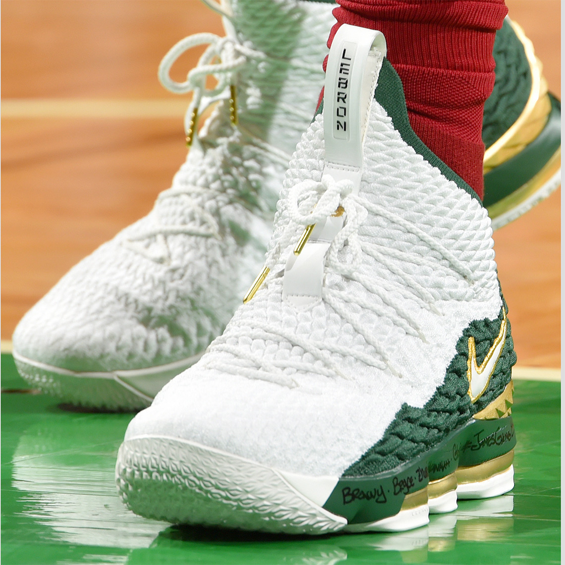 detailed look 1eba0 996bc Nike LeBron 15 SVSM PE | SneakerNews.com