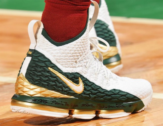 LeBron James Debuts Nike LeBron 15 Inspired By His First SVSM PE