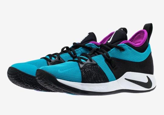 """Nike PG 2 """"Blue Lagoon"""" Releases Next Week"""