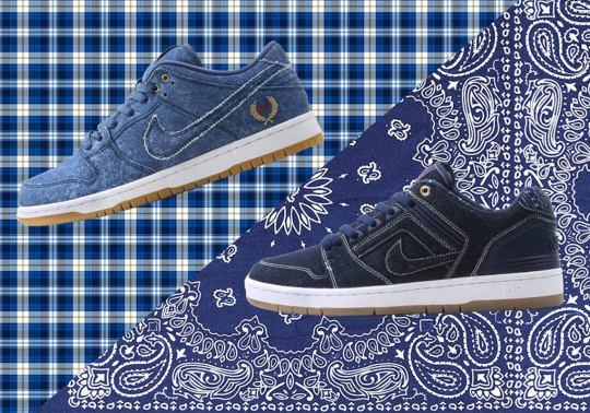 Nike SB's Denim Pack References Mid-90s Fashion