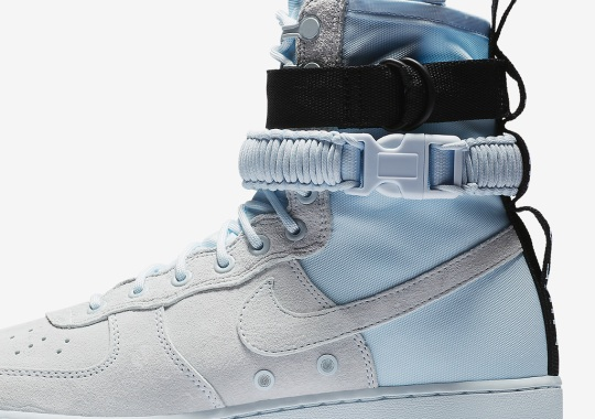 "Nike SF-AF1 High ""Blue Tint"" Is Coming Soon"
