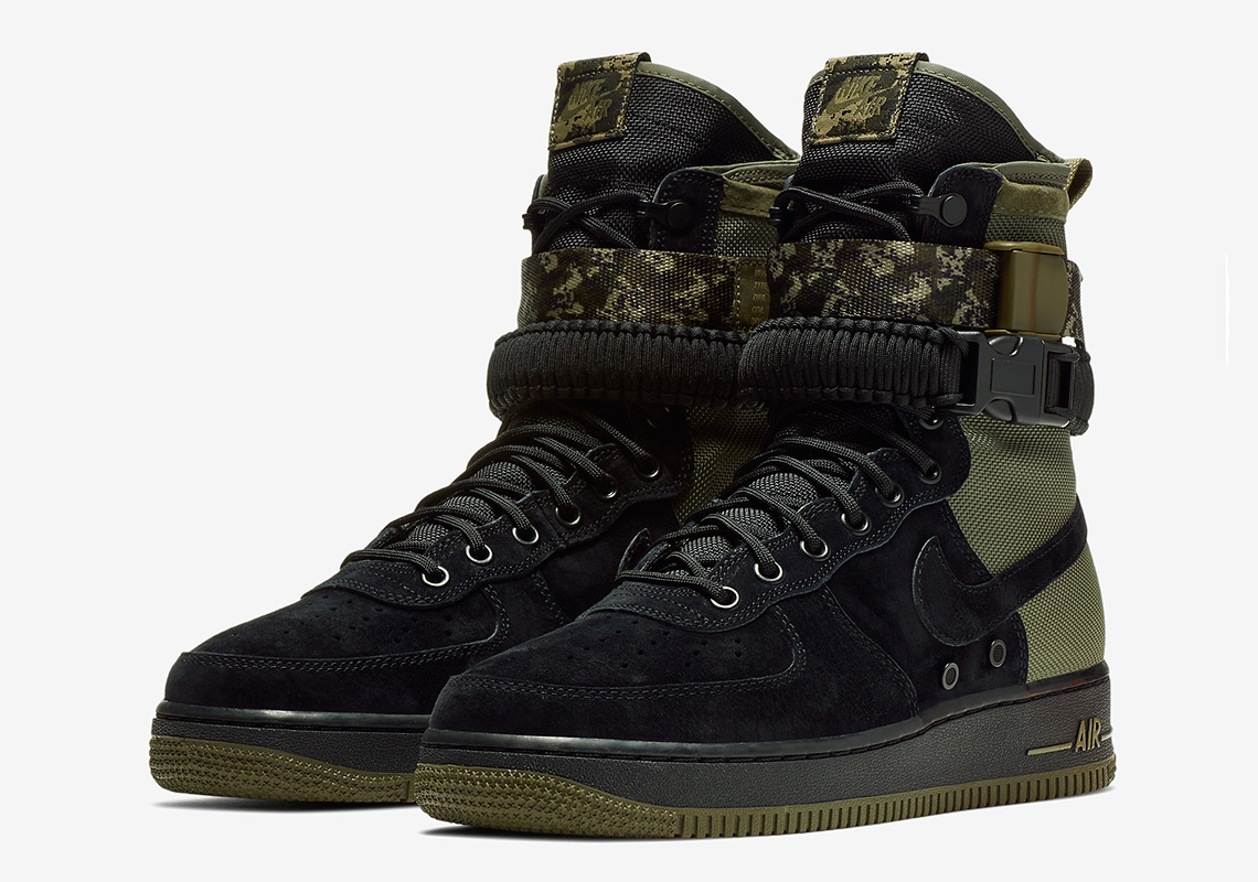 95242b921776 A True Military Theme Appears On The Nike SF-AF1