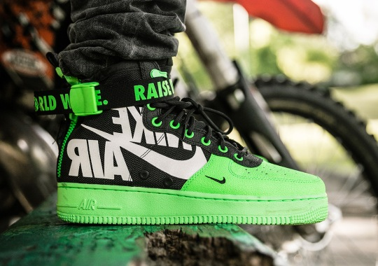 These Nike SF-AF1 Mids For The 12 'o Clock Boys Are Inspired By Dirt-Bike Manufacturers