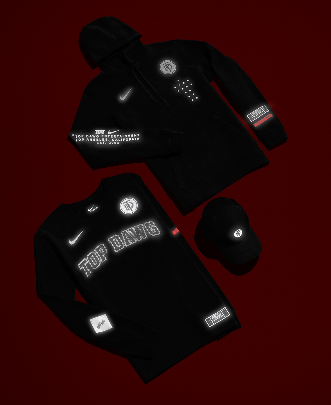 b798e3fd Where To Buy Nike Kendrick Lamar TDE The Championship Tour Merch ...