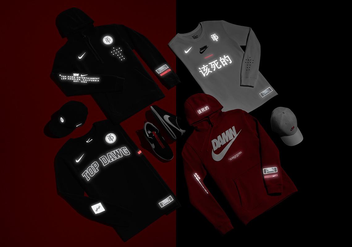 scarpe da ginnastica a buon mercato codice coupon valore eccezionale Where To Buy Nike Kendrick Lamar TDE The Championship Tour Merch ...