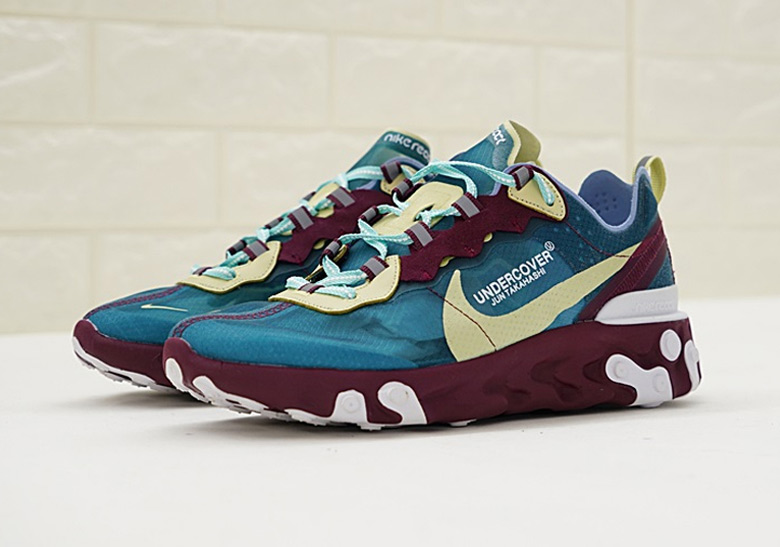 3426954208f Undercover x Nike React Element 87. Release Date  Fall 2018