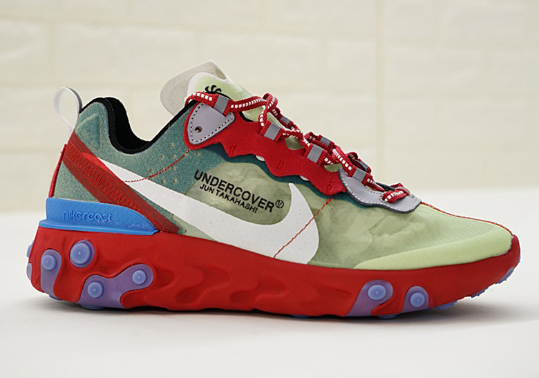 ea217f636cb9 Undercover x Nike React Element 87. Release Date  September 13th