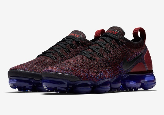 The Next Nike Vapormax Flyknit 2.0 Pairs Team Red And Game Royal