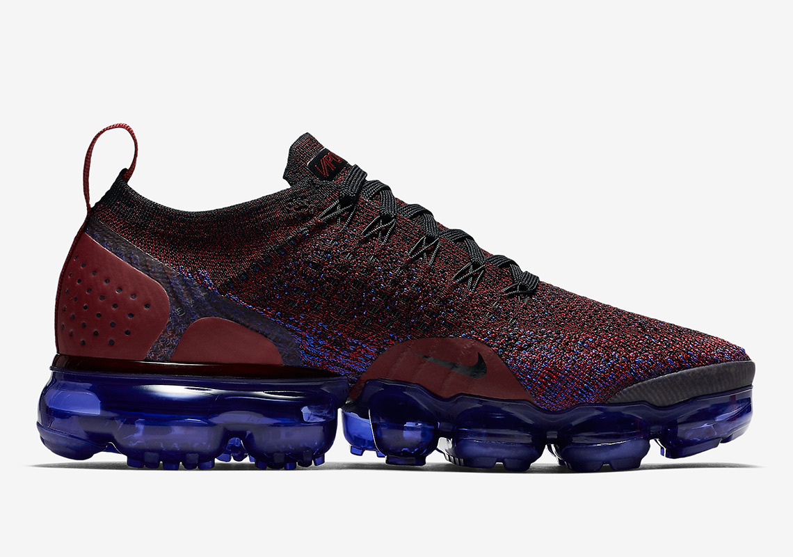 huge selection of 32356 7c0cf reduced nike air vapormax flyknit 2 team red game royal 135b3 db063  50%  off nike vapormax 2.0. release date may 17th 2018 190. color black