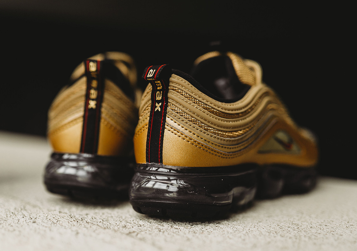 Where To Buy Nike Vapormax Plus Gold AJ7291 700