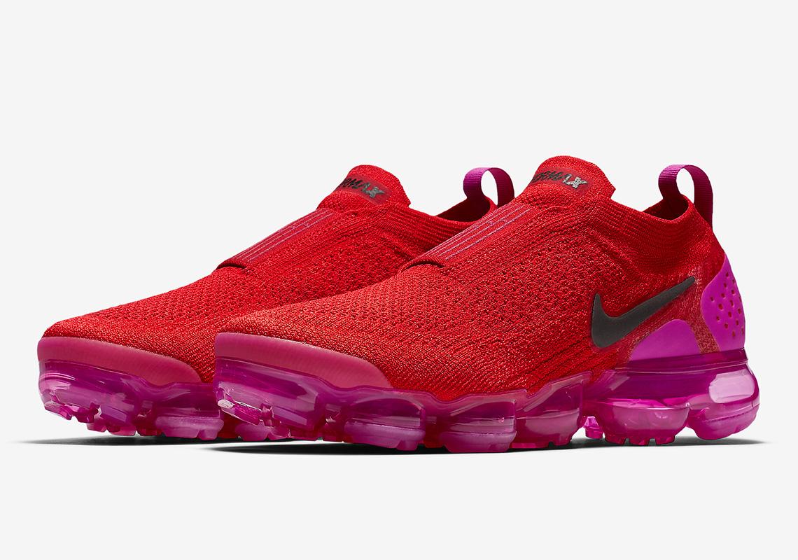 eae223fe58 Nike Vapormax Moc 2 Red/Pink AJ6599-600 Release Info | SneakerNews.com