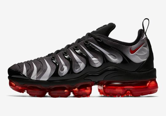 """Nike Vapormax Plus """"Red Shark Tooth"""" Colorway Emerges"""