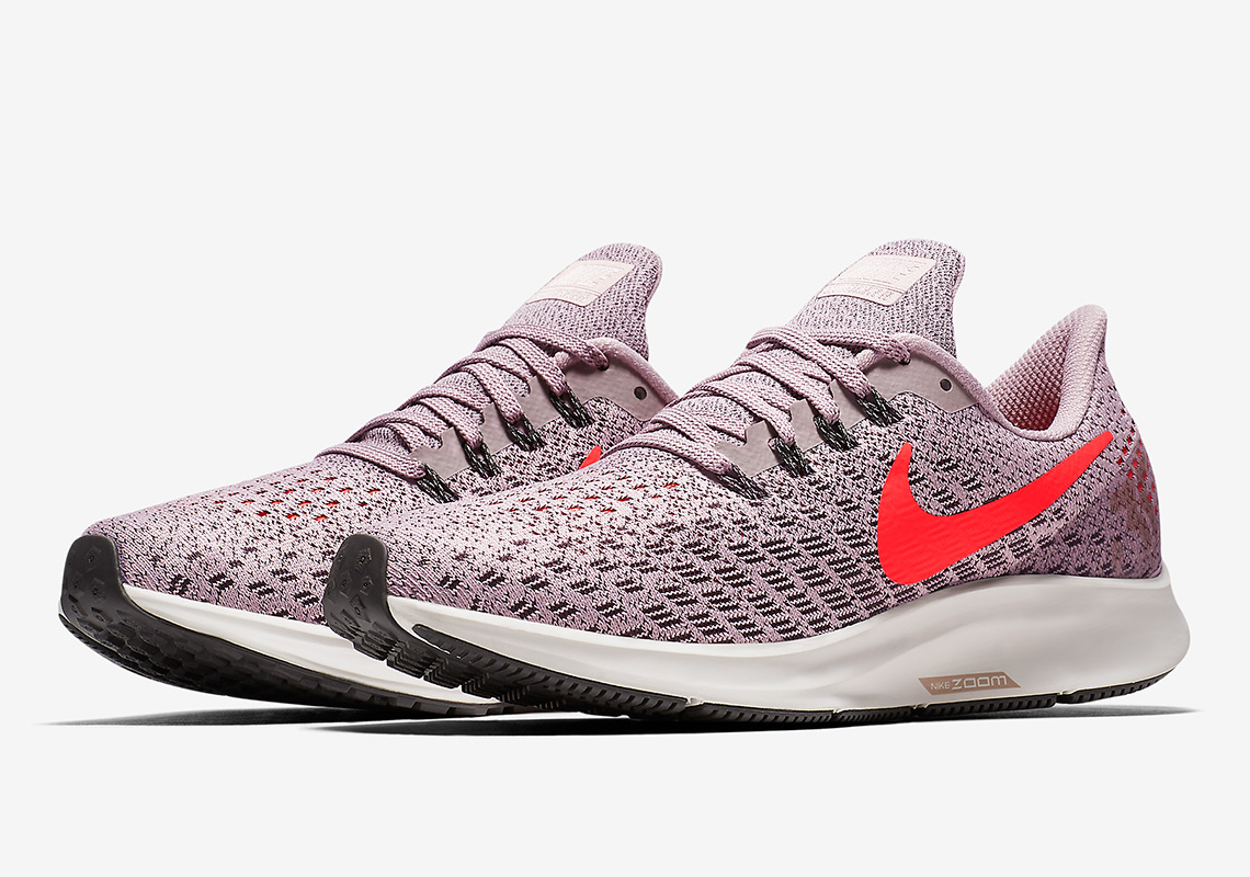 60acf3b6a70cb Nike Zoom Pegasus 35. COMING SOON TO Nike  120. Color  Particle Rose Thunder  Grey Summit White Flash Crimson Style Code  942855-602 (women s)