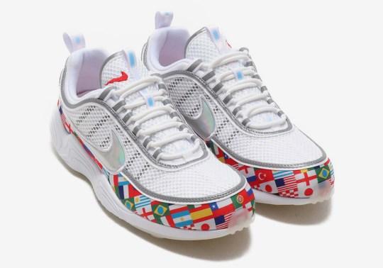 """Nike Zoom Spiridon NIC """"International Flag"""" In Detail"""