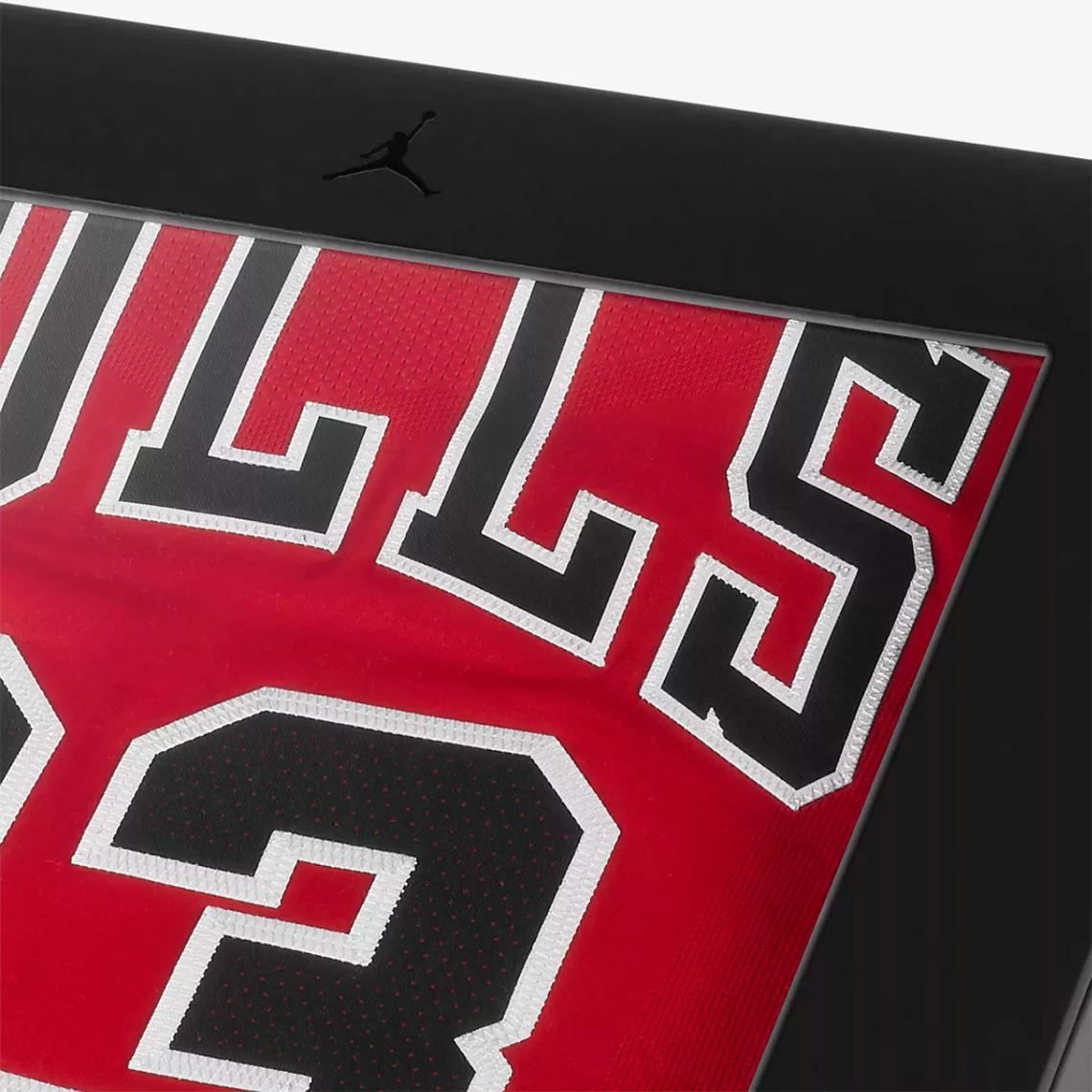 best sneakers ed60d 1035d NikeConnect Michael Jordan Authentic Bulls Jersey Release ...