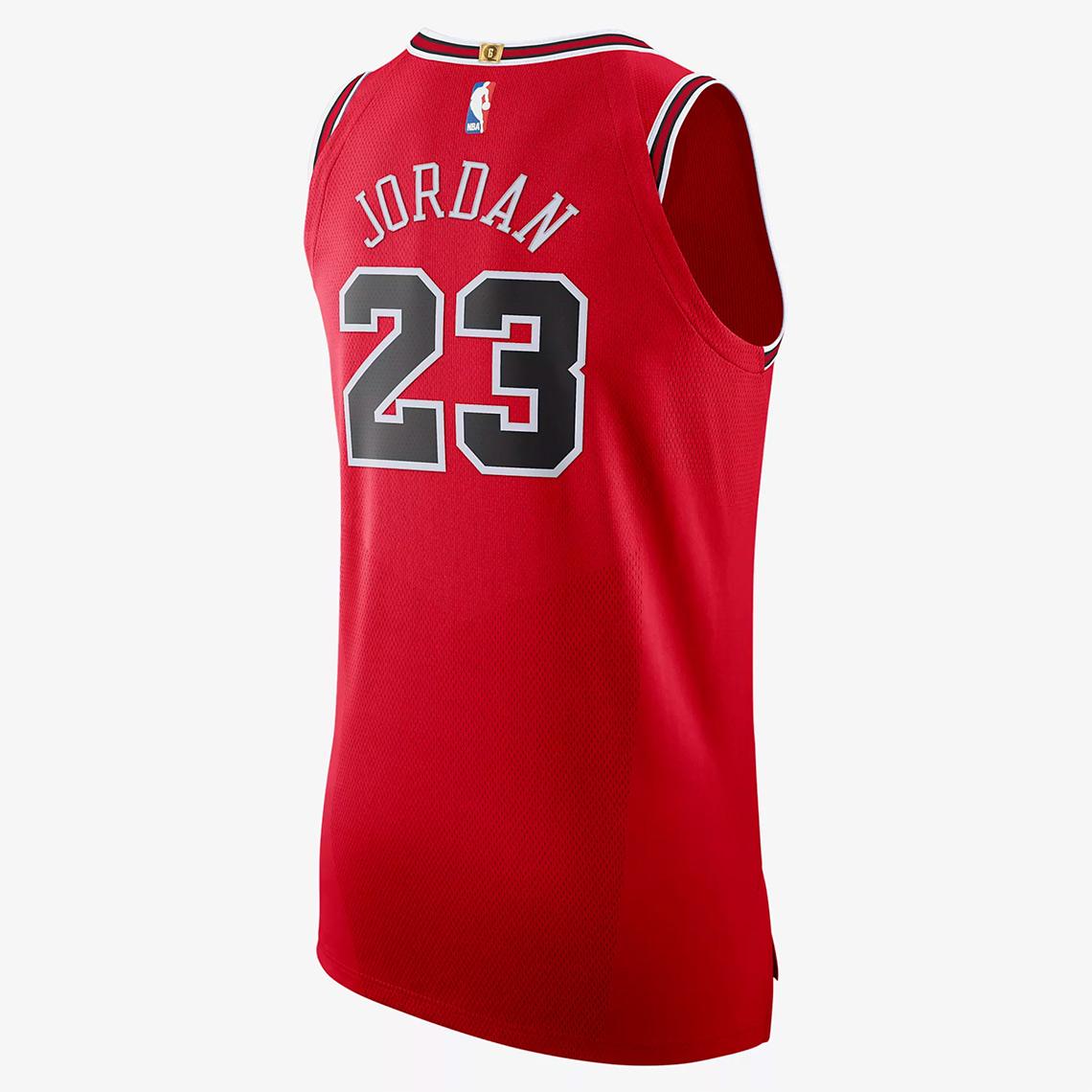 best sneakers ccf2c 7551a NikeConnect Michael Jordan Authentic Bulls Jersey Release ...