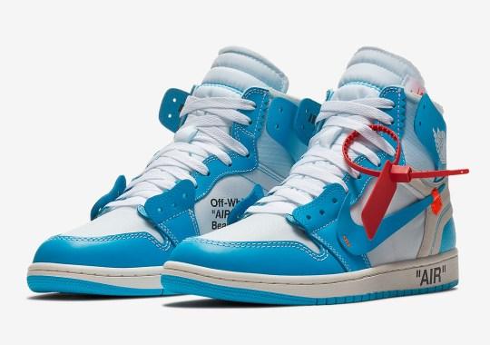b4f0e4f696b OFF WHITE Air Jordan 1 UNC Blue Release Date | SneakerNews.com