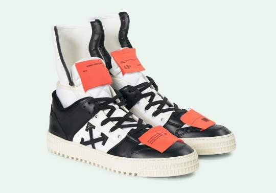 Virgil Abloh Releases The OFF WHITE High Top 3.0 Sneaker
