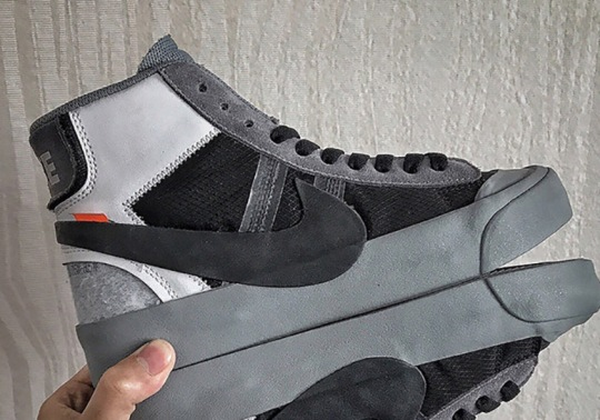 A Grey Colorway Of The OFF WHITE x Nike Blazer Has Been Revealed