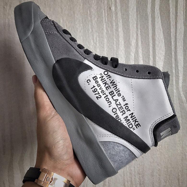 off white blazer grey