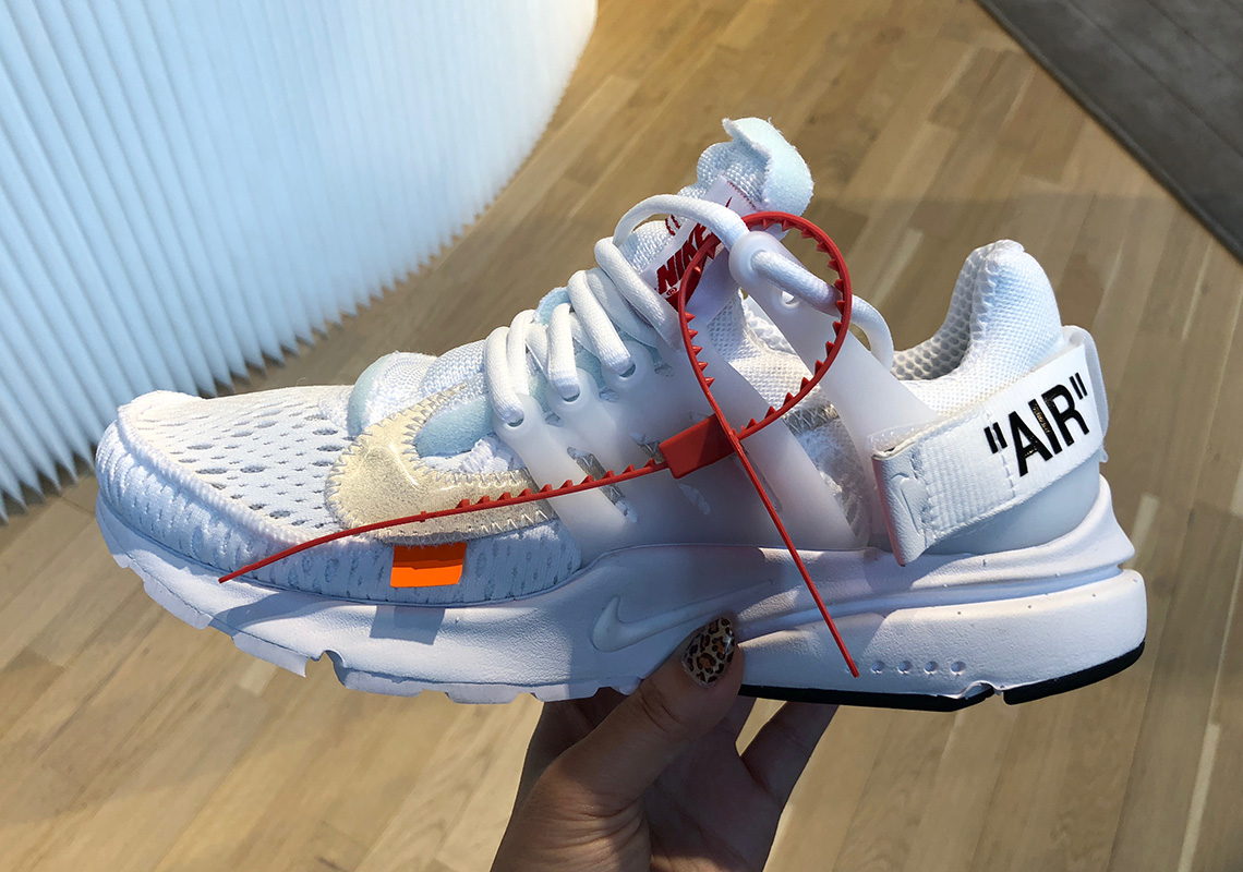 quality design cb39f eb3ac Keep it locked right here for everything Virgil Abloh and Nike, and let us  know how you think these two new OFF WHITE Presto colorways stack up to the  ...