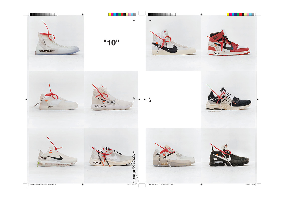 Virgil Abloh Off White Nike The Ten Icons Reconstructed Book