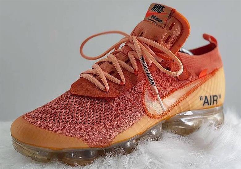 OFF WHITE Nike Vapormax Dye Customs
