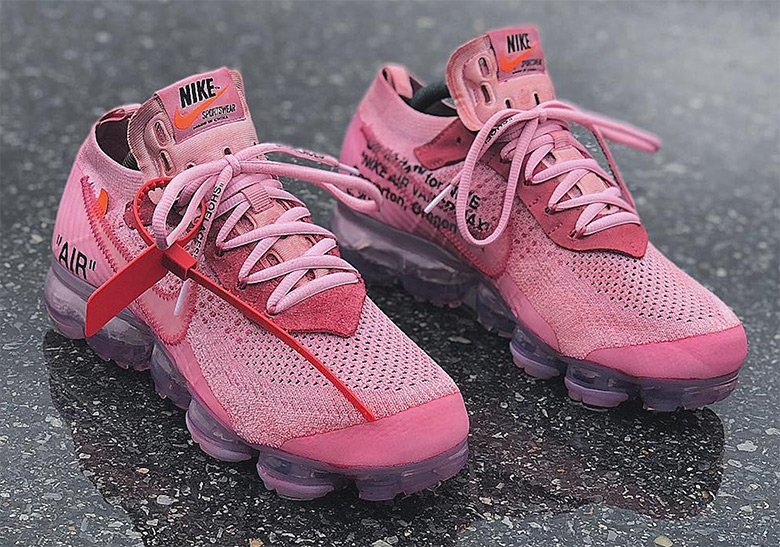 OFF WHITE Nike Vapormax Dye Customs
