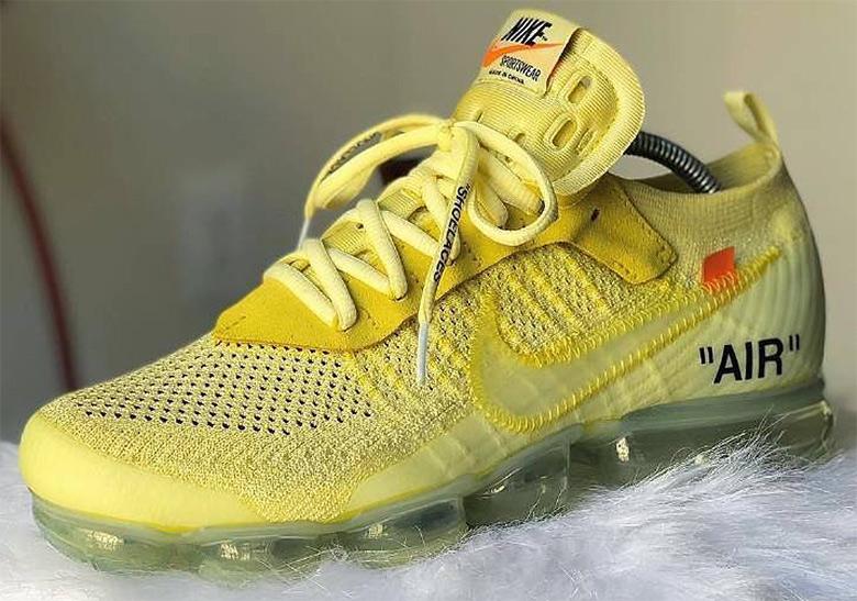51e9219583e OFF WHITE Nike Vapormax Dye Customs