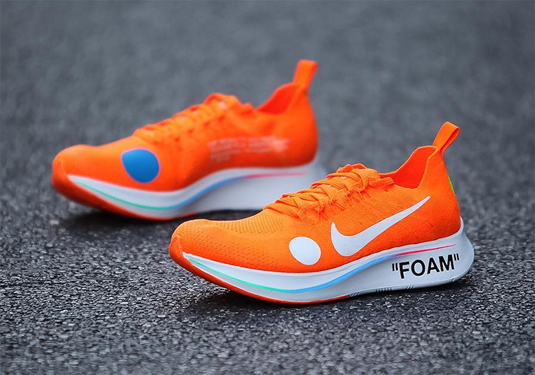 8eb9b8dd20ac1 The OFF WHITE x Nike Zoom Fly Mercurial Flyknit Is Releasing Soon -  SneakerNews.com