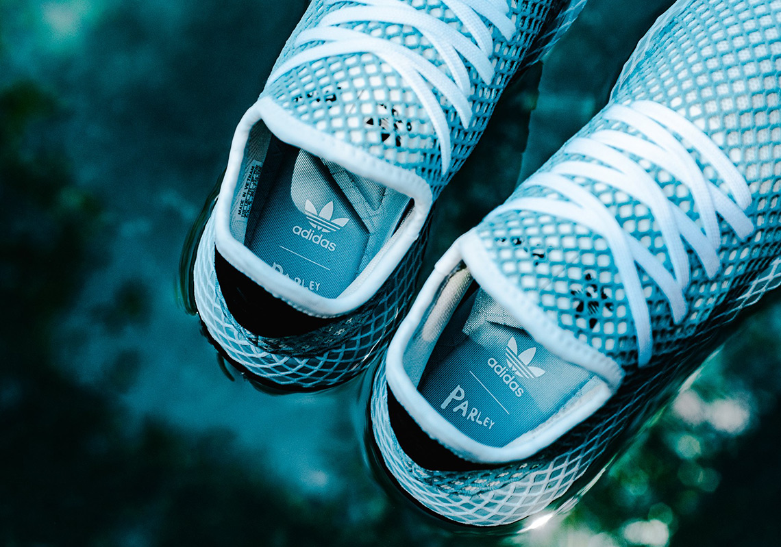 timeless design 76eaa f2d3c The Parley x adidas Deerupt Is Available Now