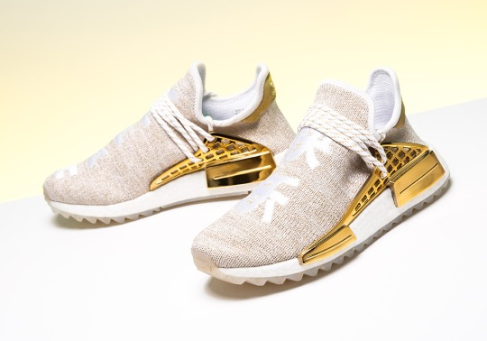 "Detailed Look At Pharrell's adidas NMD Hu ""Happy"" For Friends And Family"