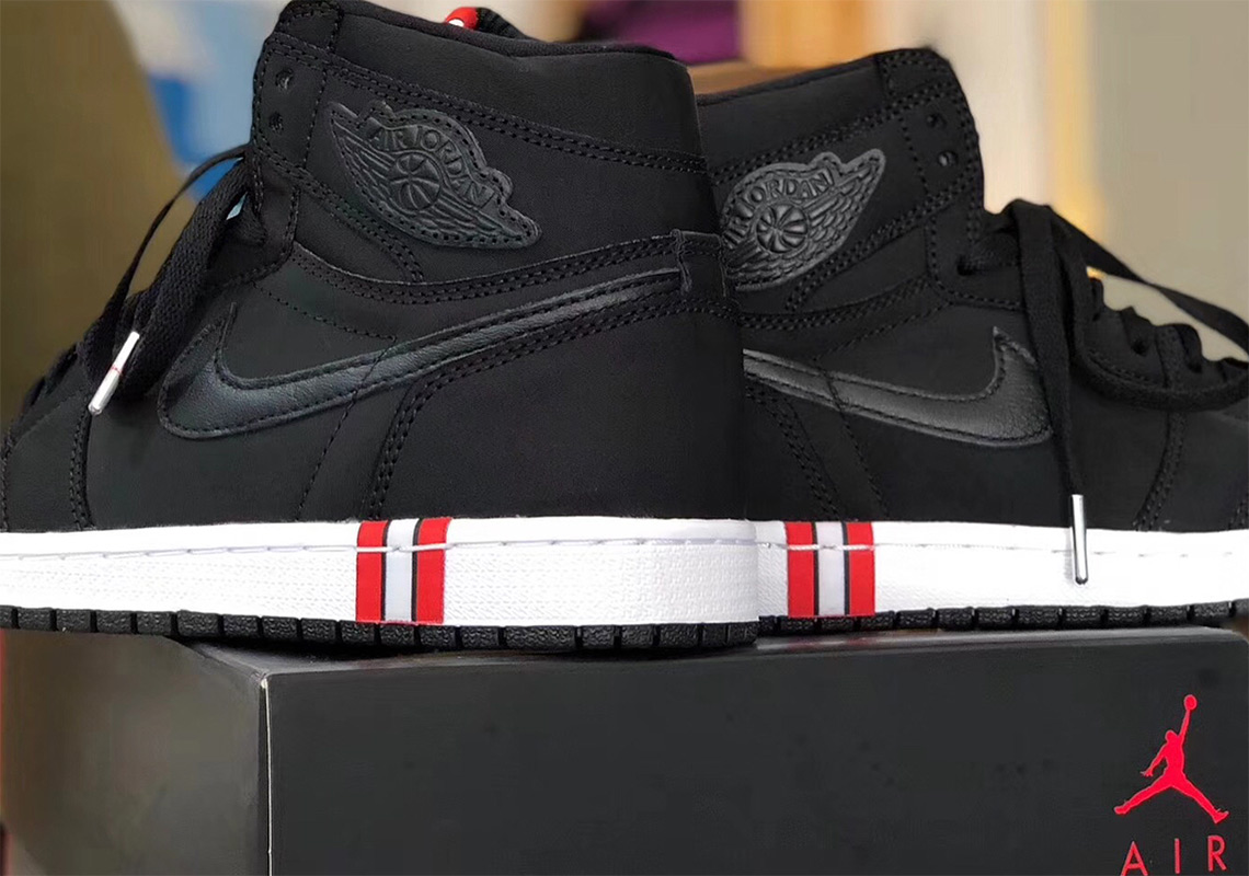 watch 689ad d2aa8 Paris Saint Germain x Air Jordan 1 First Look | SneakerNews.com