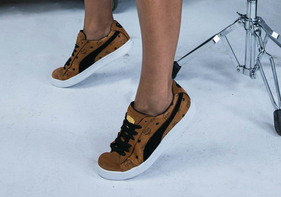 promo code 9fd18 3221e Puma Suede x MCM Full Release Details | SneakerNews.com