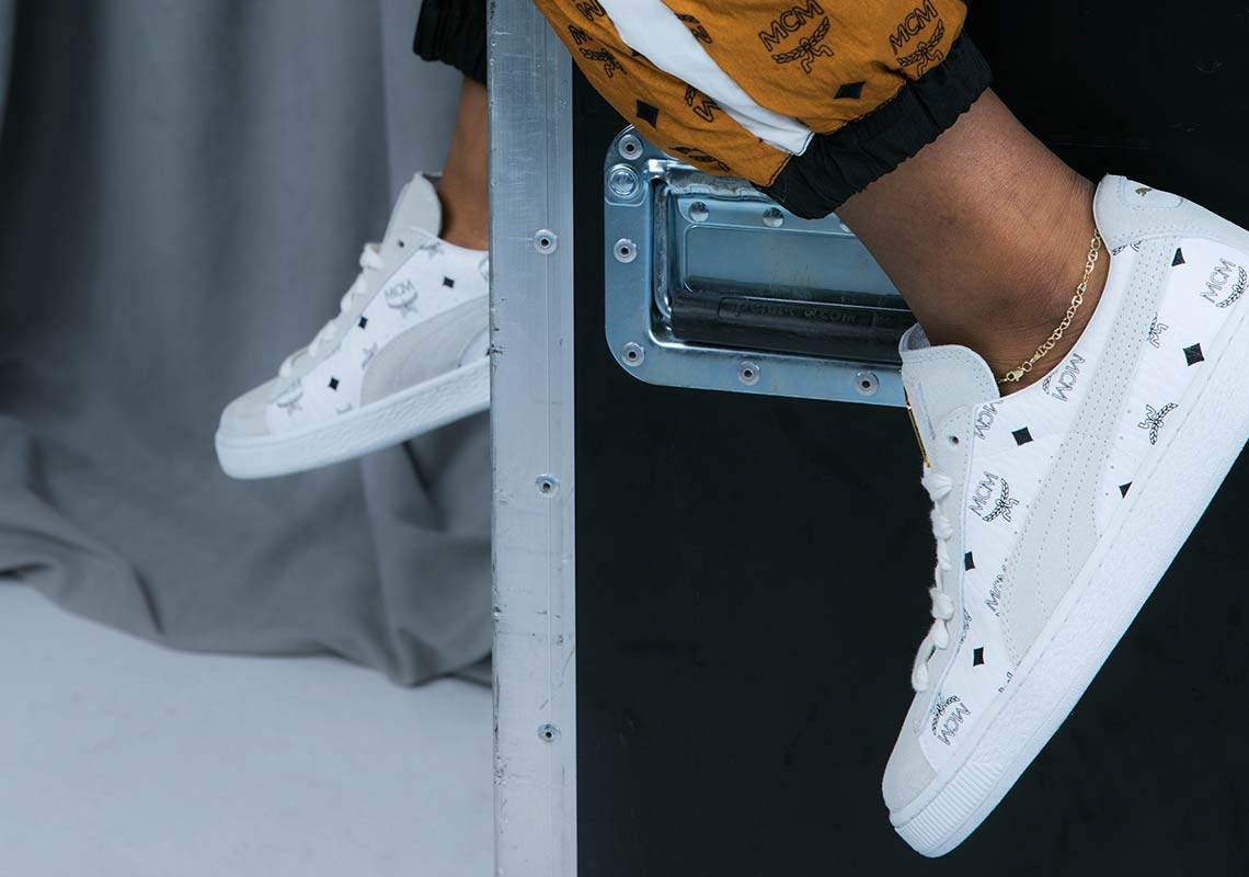 promo code 4dd09 34eaf Puma Suede x MCM Full Release Details   SneakerNews.com