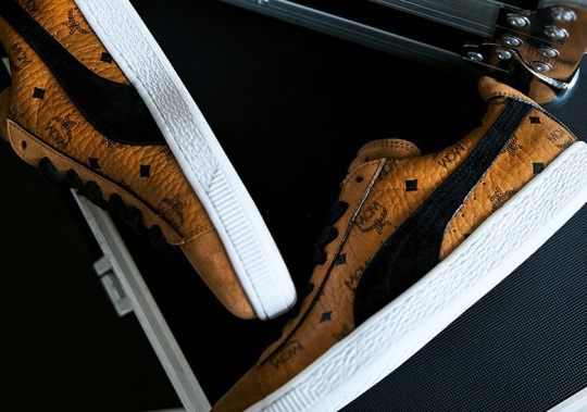 Puma Links Up With Luxury Brand MCM For Two Suede Options