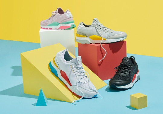 """Puma Takes Inspiration From 80's Gaming And Arcades With RS-0 """"Play"""" Collection"""