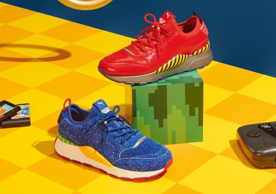 SEGA And Puma Are Releasing Sonic And Dr. Eggman Sneakers In June