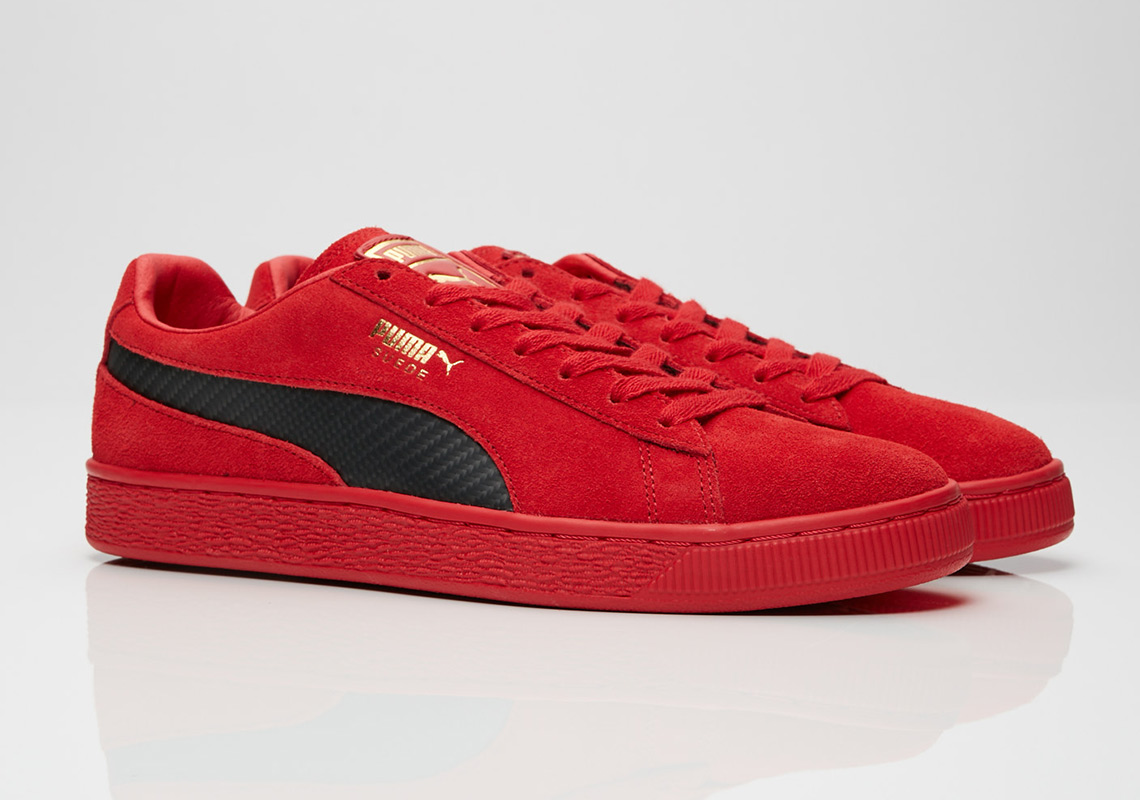 08e18269f5f Puma s Next Suede 50 Collaboration Is With Italian Supercar Ferrari