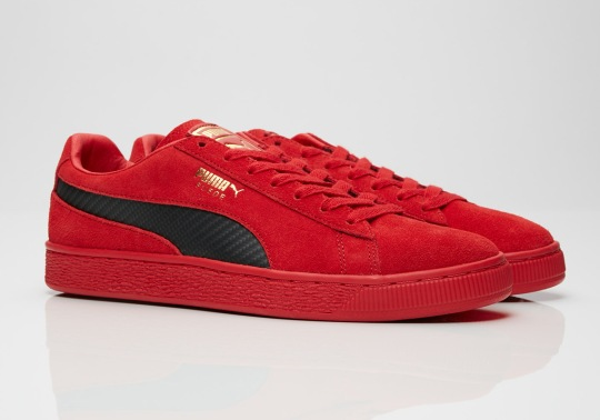 Puma's Next Suede 50 Collaboration Is With Italian Supercar Ferrari