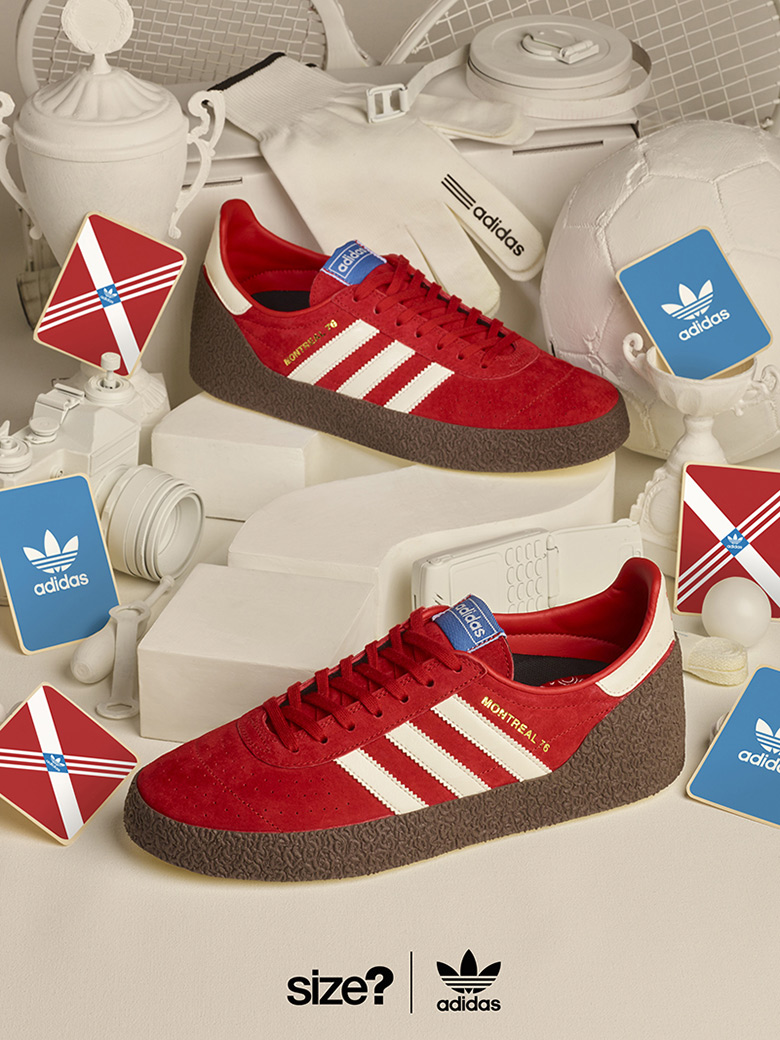 The adidas Originals Montreal 76 Is Dropping Exclusively At Size?