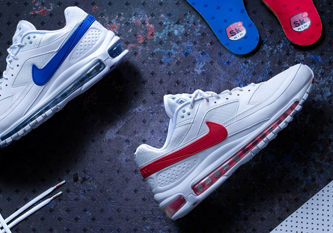 557c6913f9f Skepta x Nike Air Max 97 BW Inspired By Three Shoes