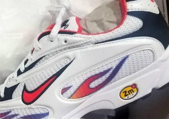Best Look Yet At The Supreme x Nike Zoom Streak Spectrum Plus