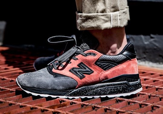 """Todd Snyder And New Balance Drop The NB1 998 """"Sunset Pink"""""""