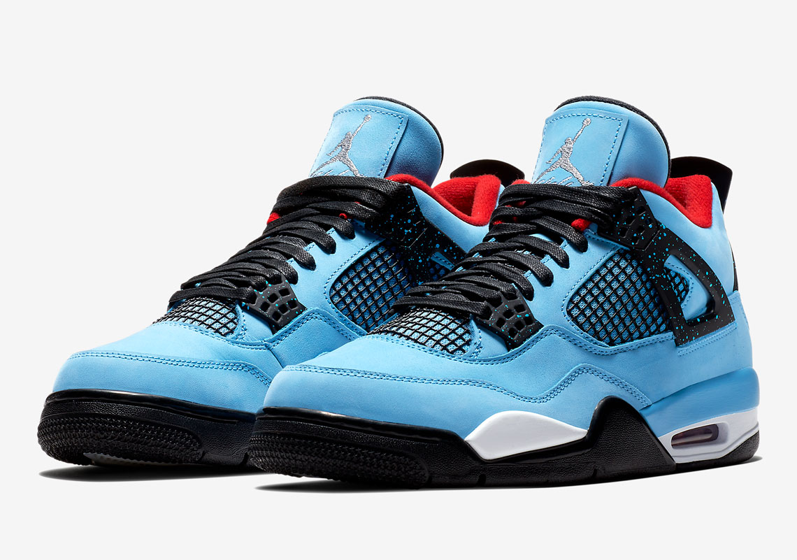"Official Images Of The Travis Scott x Air Jordan 4 ""Cactus Jack"""
