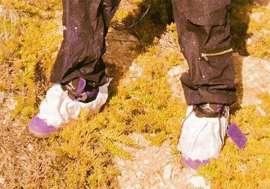 Travis Scott Reveals A Purple Air Jordan 4 Colorway