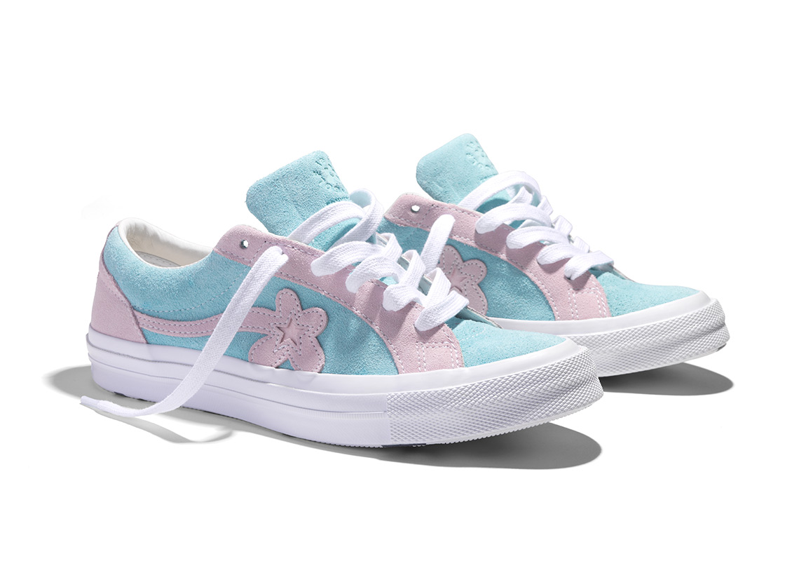 95e8b7fa81d6ae Where To Buy  Tyler The Creator x Converse Golf Le Fleur ...